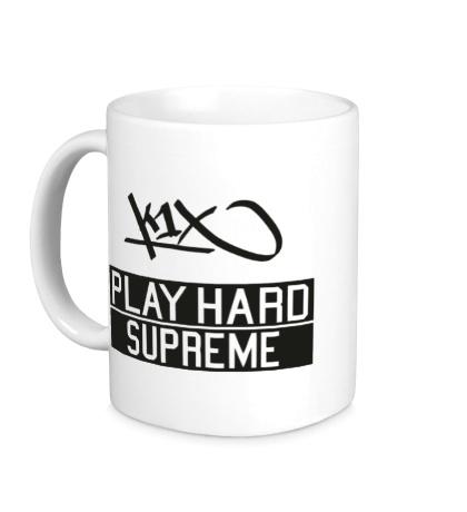 Керамическая кружка «Party Hard Supreme»