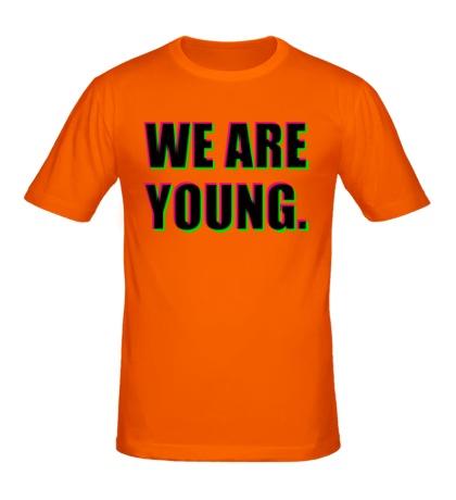 Мужская футболка We are young
