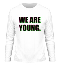 Мужской лонгслив We are young
