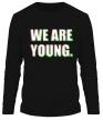 Мужской лонгслив «We are young» - Фото 1