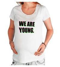 Футболка для беременной We are young