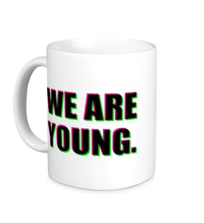 Керамическая кружка We are young