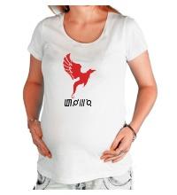 Футболка для беременной 30 STM Symbols