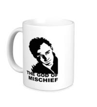 Керамическая кружка Loki: God of mischief