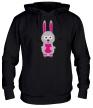 Толстовка с капюшоном «Милый заяц» - Фото 1