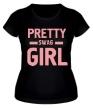 Женская футболка «Pretty swag girl» - Фото 1