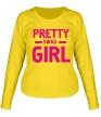 Женский лонгслив «Pretty swag girl» - Фото 1