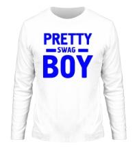 Мужской лонгслив Pretty swag boy