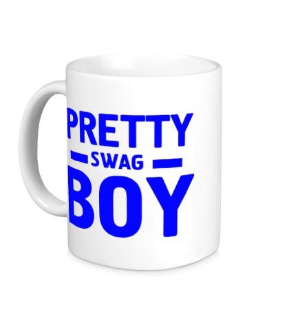 Керамическая кружка Pretty swag boy