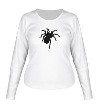 Женский лонгслив Ползучий паук