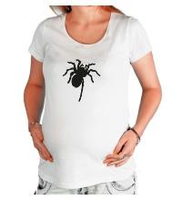 Футболка для беременной Ползучий паук
