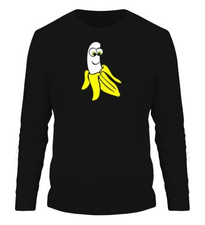 Мужской лонгслив Веселый банан