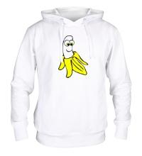 Толстовка с капюшоном Веселый банан