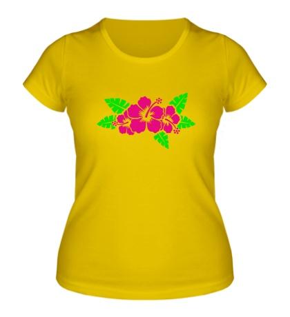 Женская футболка Красивые цветы