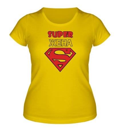Женская футболка Super Жена
