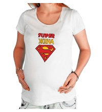 Футболка для беременной Super Жена