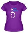 Женская футболка «Его киса» - Фото 1