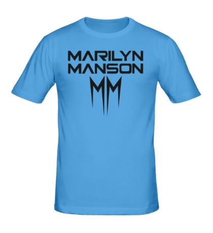 Мужская футболка Marilyn Manson