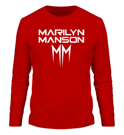 Мужской лонгслив Marilyn Manson