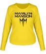 Женский лонгслив «Marilyn Manson» - Фото 1