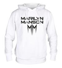 Толстовка с капюшоном Marilyn Manson