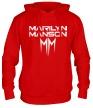 Толстовка с капюшоном «Marilyn Manson» - Фото 1
