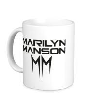 Керамическая кружка Marilyn Manson