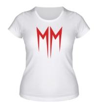 Женская футболка Marilyn Manson Symbol