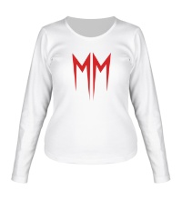 Женский лонгслив Marilyn Manson Symbol