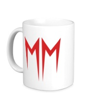 Керамическая кружка Marilyn Manson Symbol