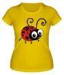 Женская футболка «Милая божья коровка» - Фото 1