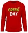 Мужской лонгслив «Vegan green day» - Фото 1
