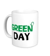 Керамическая кружка Vegan green day