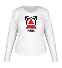 Женский лонгслив 30STM Thirty Seconds To Mars