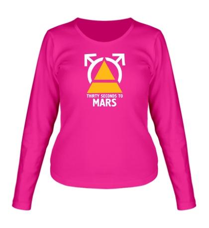 Женский лонгслив «30STM Thirty Seconds To Mars»