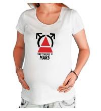 Футболка для беременной 30STM Thirty Seconds To Mars