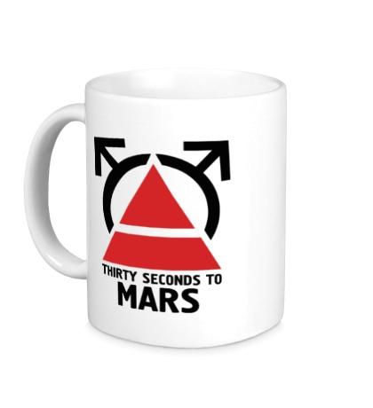 Керамическая кружка 30STM Thirty Seconds To Mars