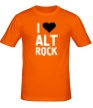 Мужская футболка «I love alt Rock» - Фото 1