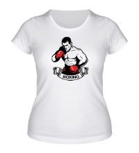 Женская футболка Mens Boxing