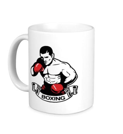 Керамическая кружка Mens Boxing
