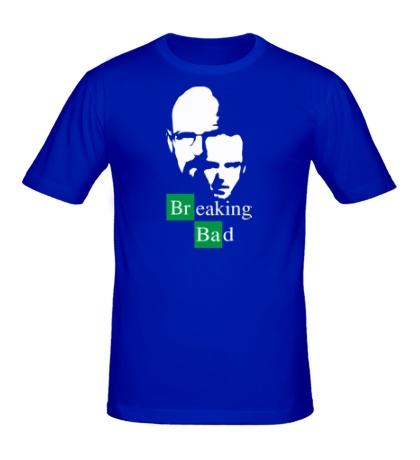 Мужская футболка Breaking Bad: Jesse & Walt