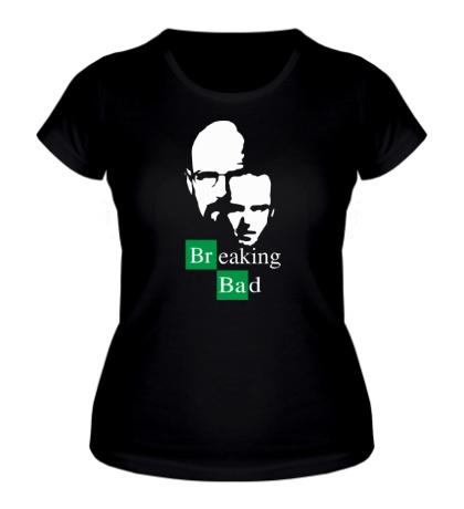 Женская футболка Breaking Bad: Jesse & Walt