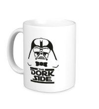 Керамическая кружка The dork side