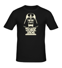 Мужская футболка The Dork Side Glow