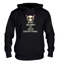 Толстовка с капюшоном Stay Grumpy & Hate Everything