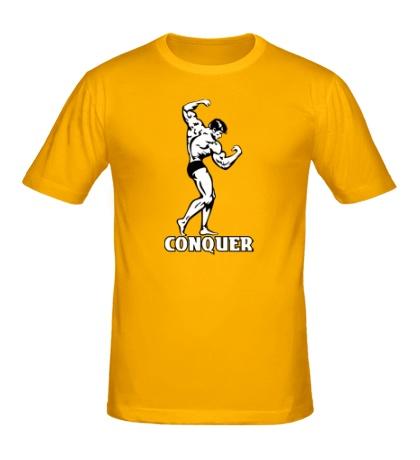 Мужская футболка Conquer