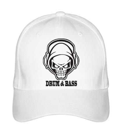 Бейсболка Drum & Bass Skull