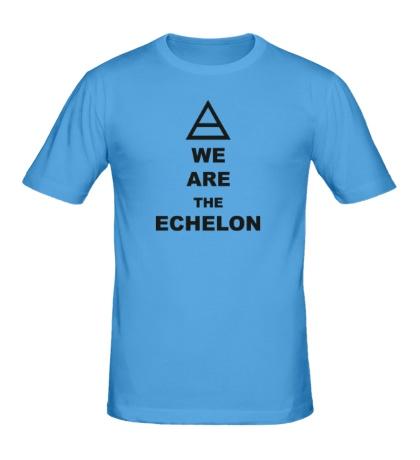 Мужская футболка We are the echelon