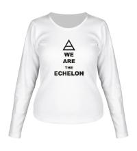 Женский лонгслив We are the echelon