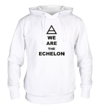 Толстовка с капюшоном We are the echelon